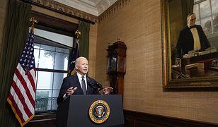Joe Biden ogłosił, że USA wycofają wojska z Afganistanu