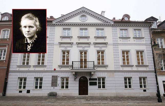 Warszawa. Muzeum Marii Skłodowskiej-Curie przy ul. Freta