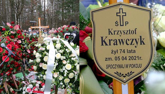Grób Krzysztofa Krawczyka w Grotnikach
