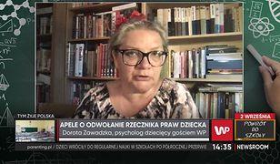 Dorota Zawadzka chce odwołania RPD. Napisała petycję i apeluje o wsparcie