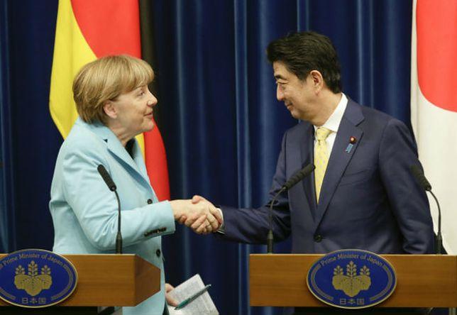 Merkel i Abe nie widzą obecnie szans na powrót Rosji do G8