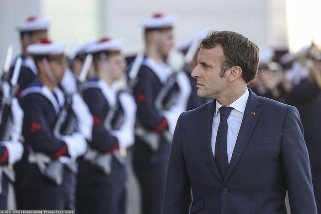 Wybuch w Bejrucie. Prezydent Francji Emmanuel Macron leci na miejsce tragedii