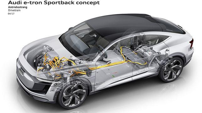 Audi e-tron Sportback concept (2017) - zdjęcia
