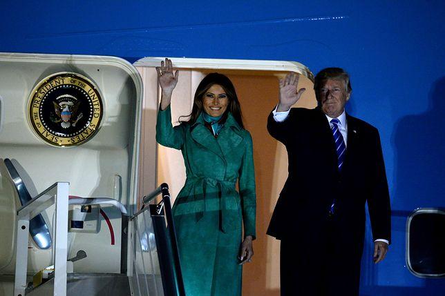 Donald Trump w Warszawie. Tak przywitał Polaków