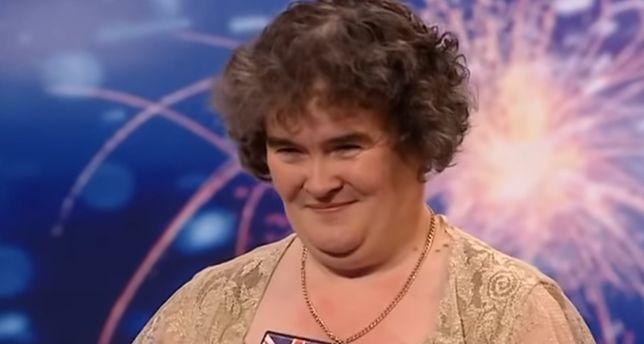 """Susan Boyle w brytyjskim """"Mam talent"""""""