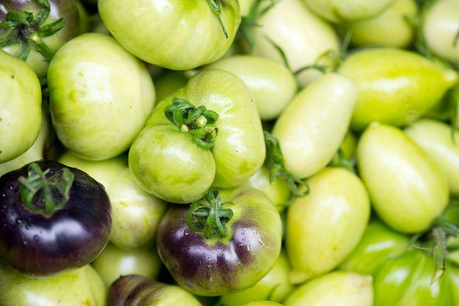 Należy unikać jedzenia zielonych pomidorów na surowo
