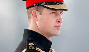Książę William nocował na ulicy