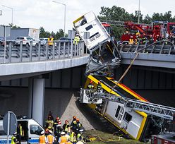 Wypadek autobusu w Warszawie. Kolega kierowcy: lubił się zabawić