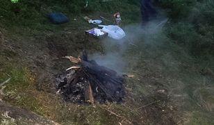 Piknik z ogniskiem w Karkonoszach. Bezmyślność turystów nie zna granic