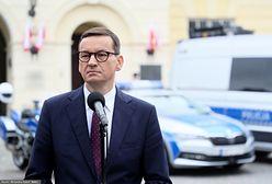 Burza po artykule Wirtualnej Polski. Morawiecki odpowiada Tuskowi