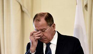 Dwa myśliwce przy samolocie z rosyjską delegacją. Moskwa żąda wyjaśnień