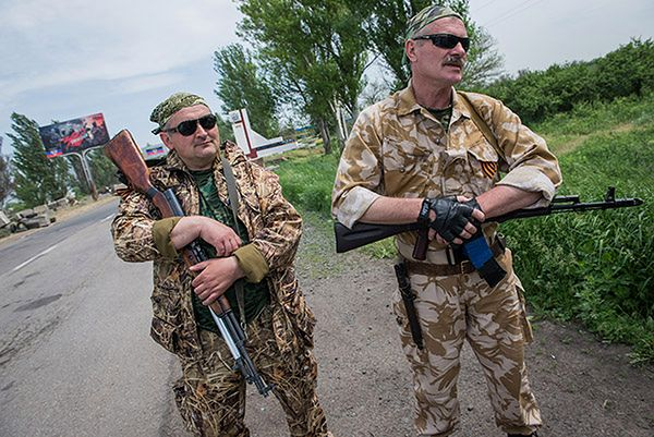 Separatyści twierdzą, że wycofali już całe ciężkie uzbrojenie