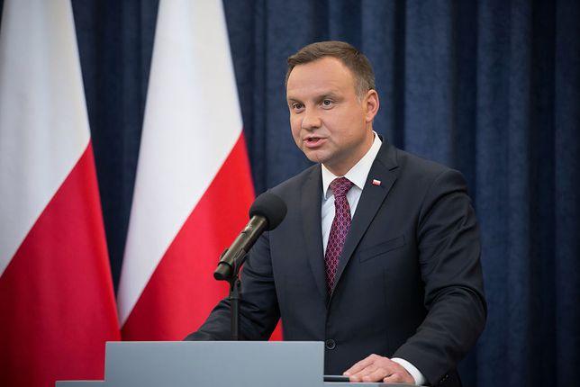 Koronawirus w Polsce. Prezydent Andrzej Duda podsumował posiedzenie RBN.