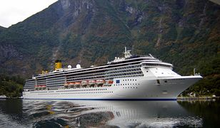 Kornawirus, W sobotę potwierdzono zarażenie kolejnych 57 członków załogi włoskiego wycieczkowca  Costa Atlantica