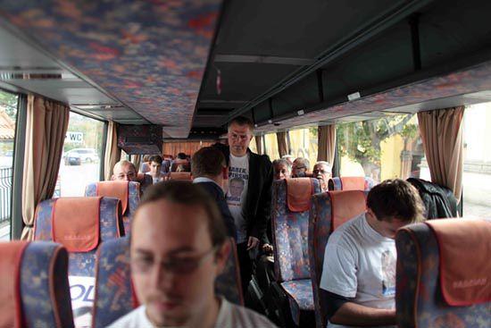 Wirtualna Polska na pokładzie autobusu PO