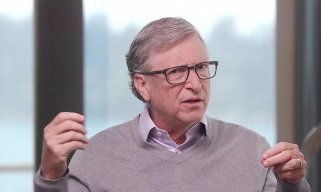 Bill Gates zabrał głos w sprawie szczepionek na COVID-19