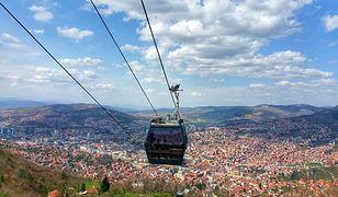 Bałkańska atrakcja znów otwarta po 26 latach. Dramatyczna przeszłość kolejki na Trebević