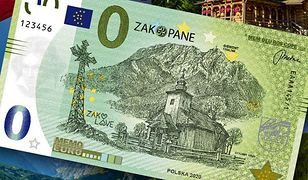Tak się prezentuje polska wersja banknotu MemoEuro