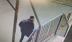 Policja poszukuje mężczyzny uwiecznionego na nagraniu szkolnego monitoringu