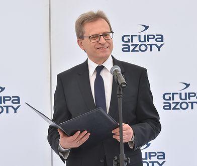 Prezes Grupy Azoty Wojciech Wardacki