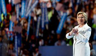 Symboliczna stylizacja Hillary Clinton