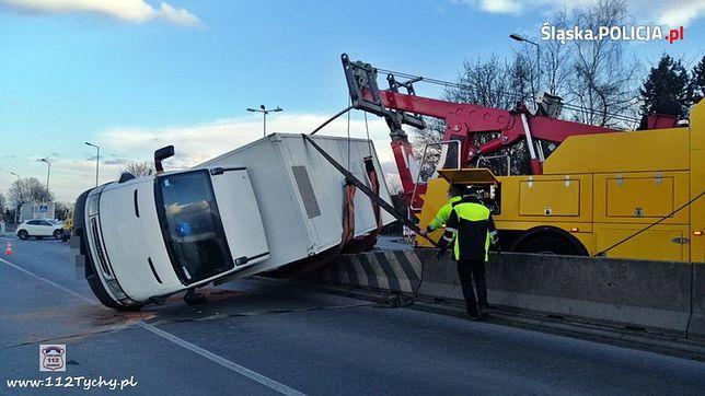 Śląsk. Na śląskich drogach doszło do kilku niebezpiecznych wypadków.