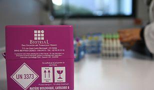 Beczki z chemikaliami na Dolnym Śląsku