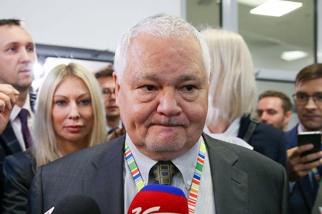 Kamila Sukiennik pojawiła się w towarzystwie prezesa Adama Glapińskiego na Kongresie 590 w Jasionce