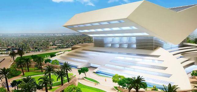Mohammed Bin Rashid Library - wizualizacja nowego budynku w Dubaju
