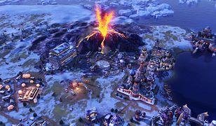 Wybuch wulkanu nie tylko niszczy okoliczne dzielnice, ale również użyźnia glebę.