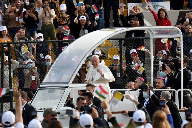 Papież Franciszek odwiedził Irak