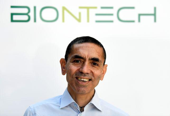 Koronawirus. Ugur Sahin, szef firmy BioNTech.