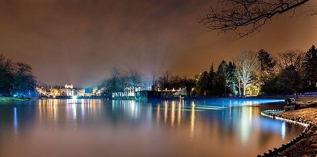 Łazienki Królewskie znów zachwycą w Zimowy Wieczór Światła. To już dziś!