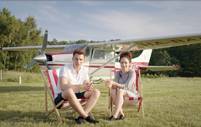Małgorzata i Kamil Purowie oraz ich szkoła spadochronowa Omega Skydive