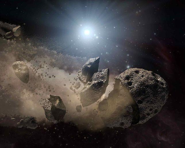 Ogromna planetoida przeleci blisko Ziemi. Ma aż 5 km średnicy