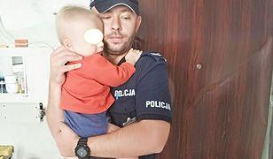 Chłopiec trafił do szpitala, a jego starszy brat do domu dziecka