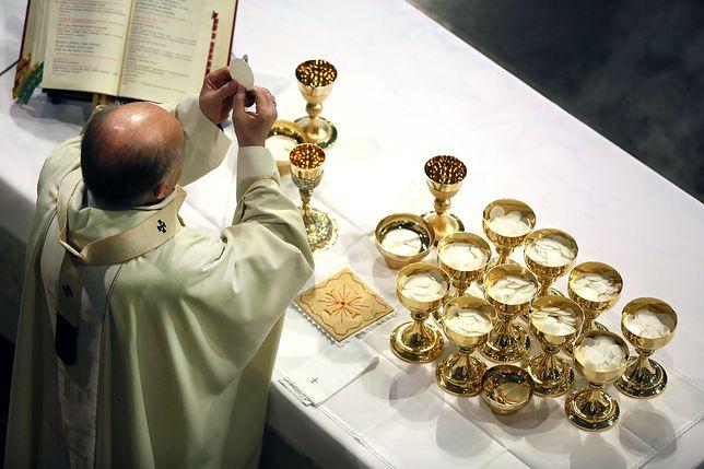 Frekwencja na niedzielnych mszach jest najniższa w historii