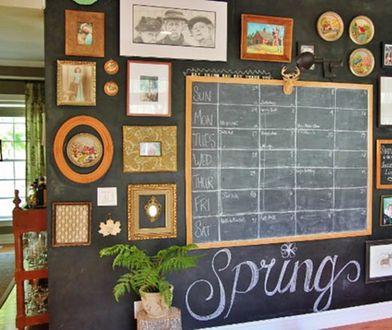 Co na ścianę? Farba tablicowa - niezwykły pomysł na ścianę