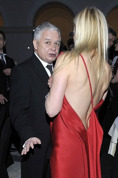 Lech Kaczyński, Monika Olejnik