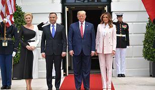 Para prezydencka wylądowała już w Stanach Zjednocoznych