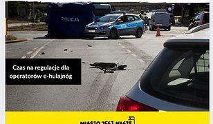 Warszawa. Miasto Jest Nasze apeluje, by powstrzymać samowolę operatorów e-hulajnóg