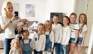 Blogerka ma dziewięcioro dzieci. Powiedziała, za co jest wdzięczna