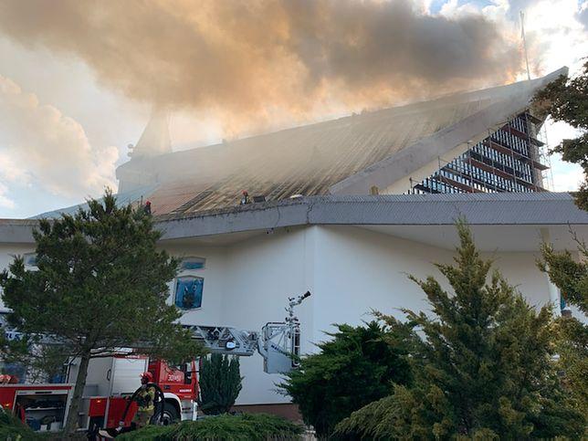 Białystok. Pożar kościoła, parafia prosi o modlitwę