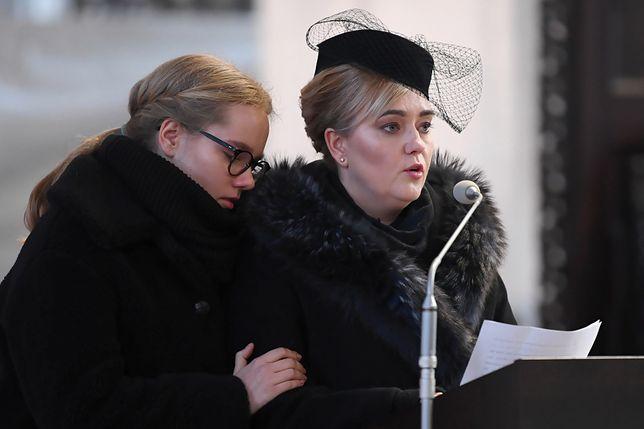 Antonina Adamowicz i Magdalena Adamowicz, córka i małżonka zmarłego prezydenta Gdańska