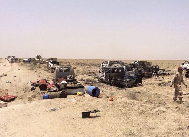 W Iraku zabito ponad 150 dżihadystów z IS