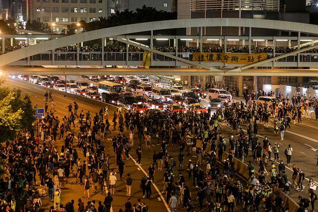 Hongkong. Kolejne protesty