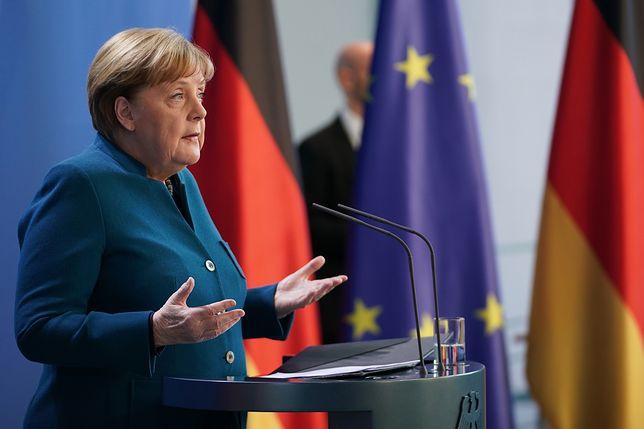 Koronawirus. Kanclerz Niemiec Angela Merkel miała kontakt z zakażonym lekarzem