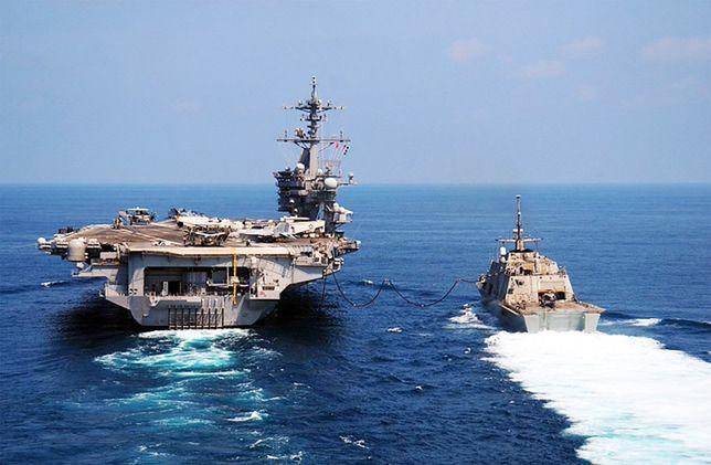 Mieli wysłać armadę, a popłynęli w przeciwnym kierunku. Amerykanie oszukali sojuszników?