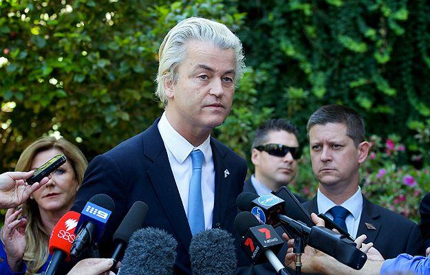 Problem z uchodźcami. Geert Wilders chce zamknąć granice i powstrzymać islamską inwazję