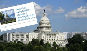USA. Organizacje polonijne napisały list do amerykańskich senatorów